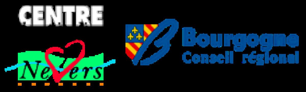 Logos centre hospitalier Nevers et conseil régional de Bourgogne